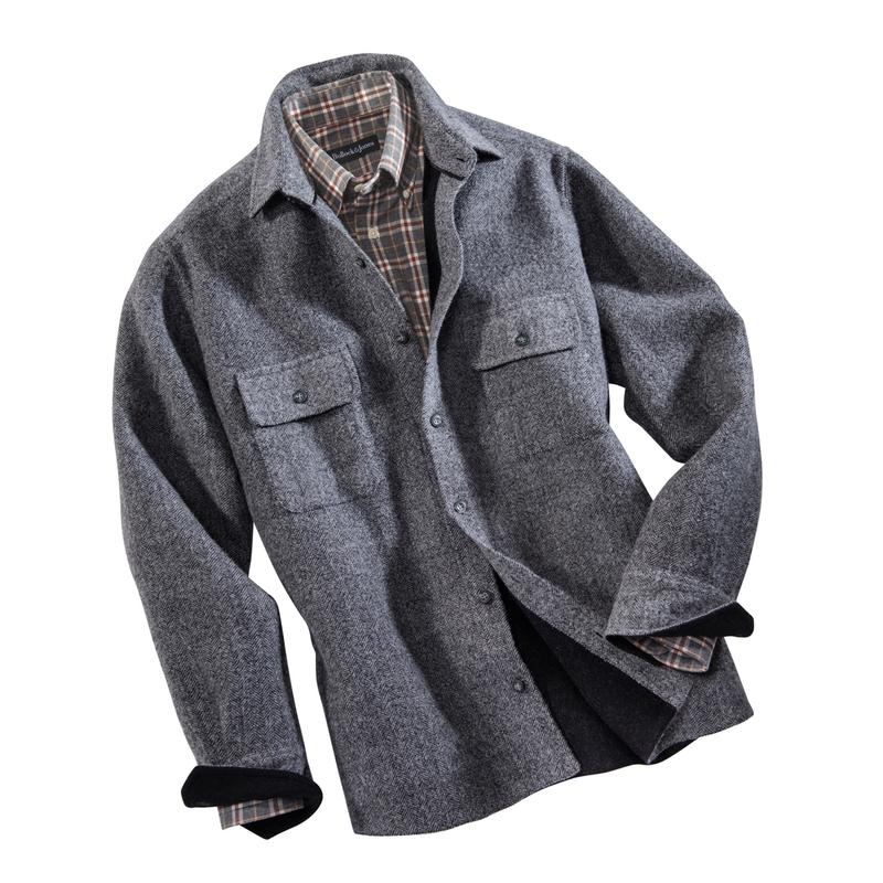 Monroe Wool/Alpaca Shirt Jacket