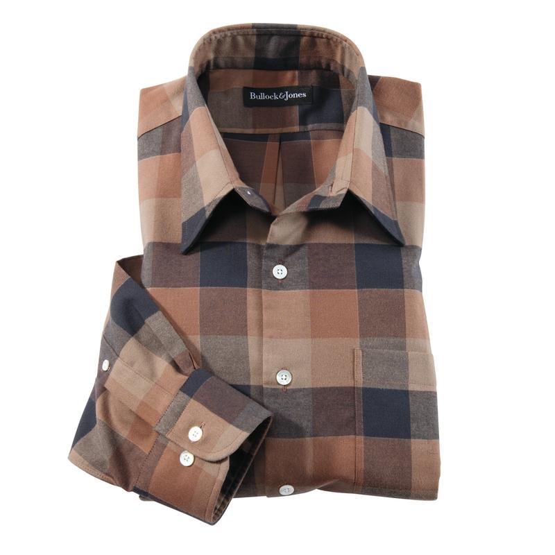 Robinson Flannel Block Check Shirt