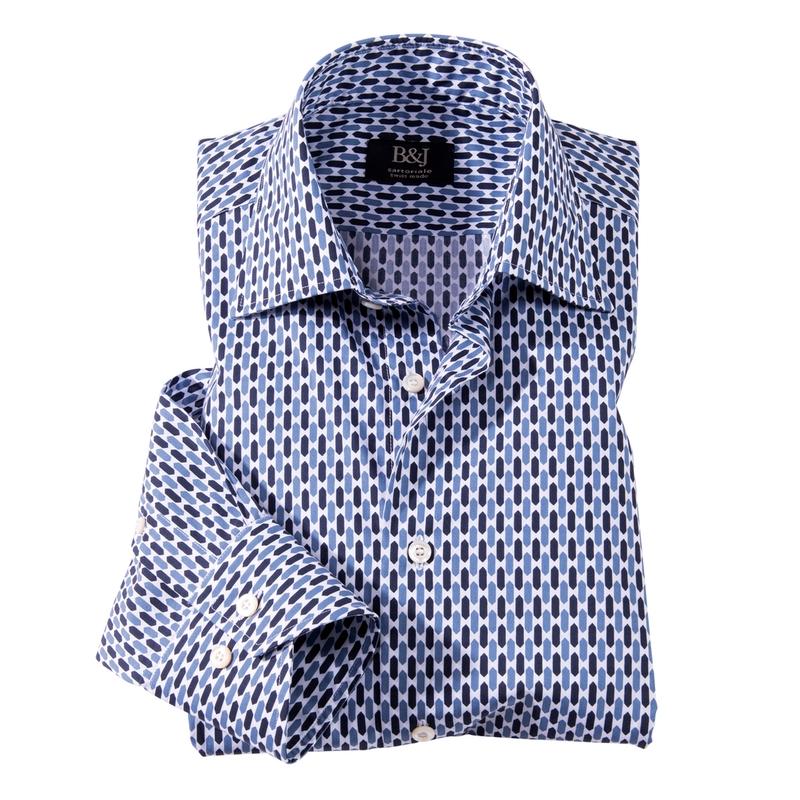 Geometric Print Sartoriale Shirt