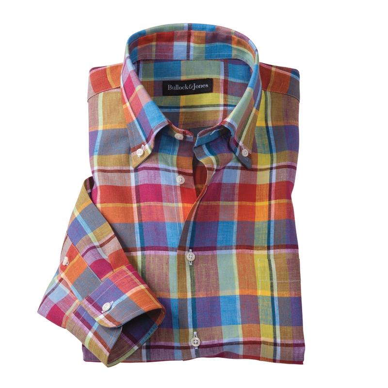 Danville Plaid Sport Shirt