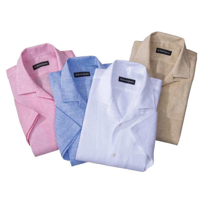 Saratoga Linen Camp Shirts