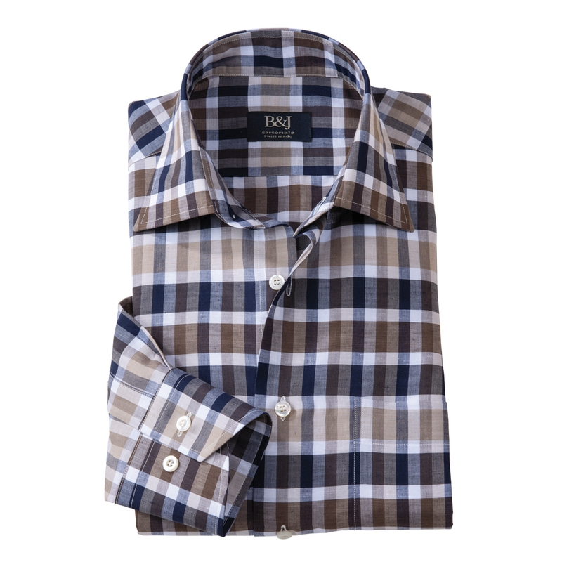 Check Swiss Sartoriale Shirt