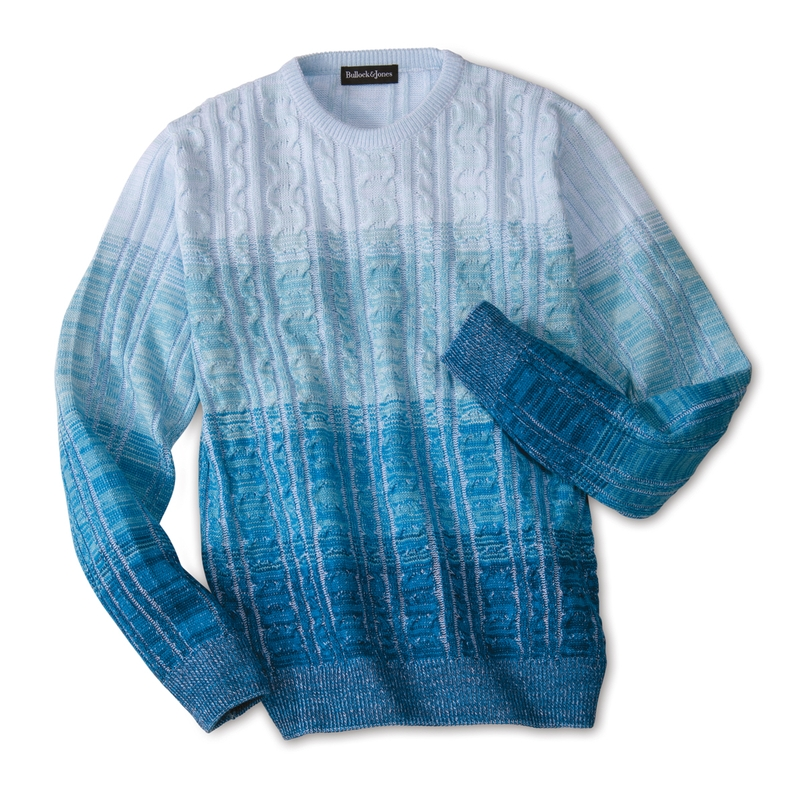 Onde Cable Crewneck