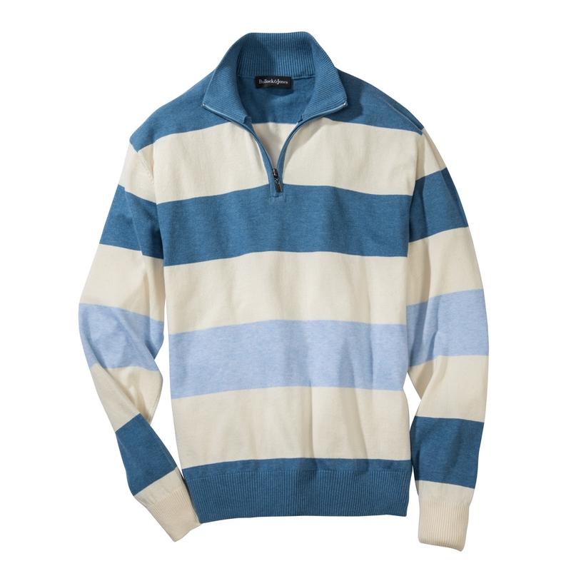 'Seaside Stripe Quarter-Zip