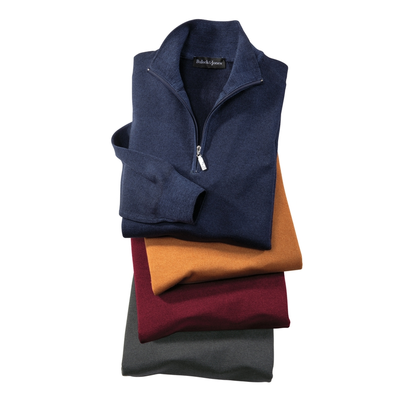 'Fresca' Merino Wool Quarter Zip