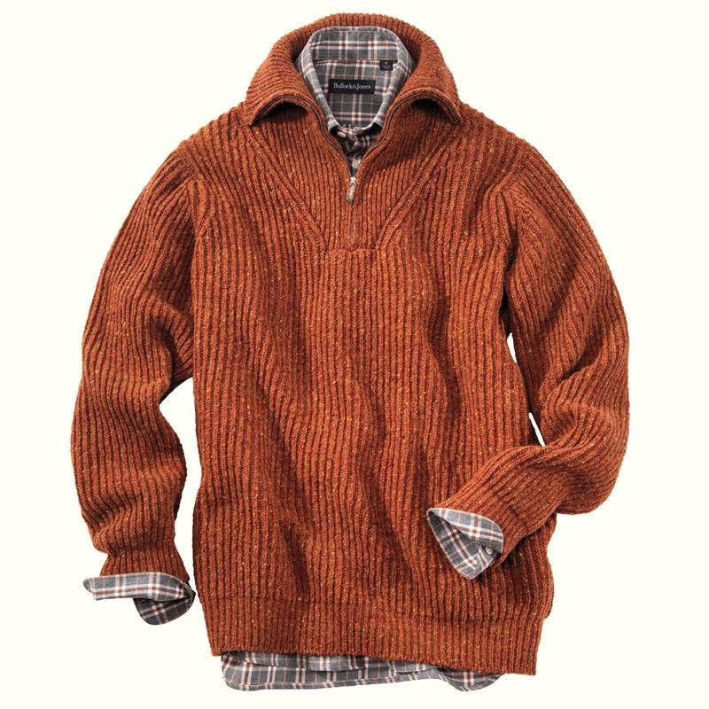Sean Merino Wool Quarter-Zip
