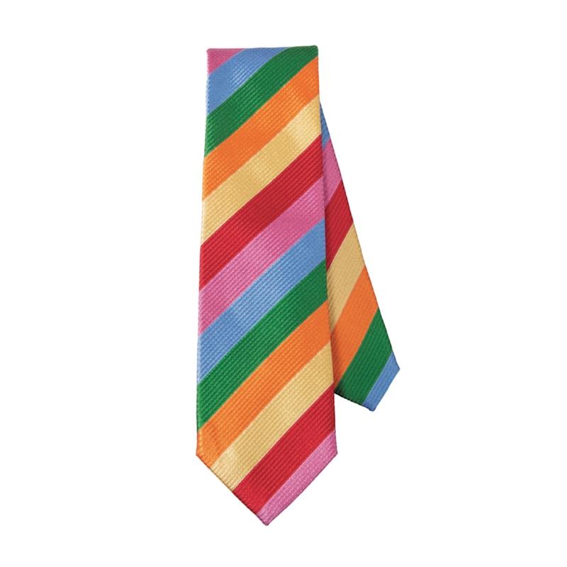 Brambilla 6-Color Stripe Tie