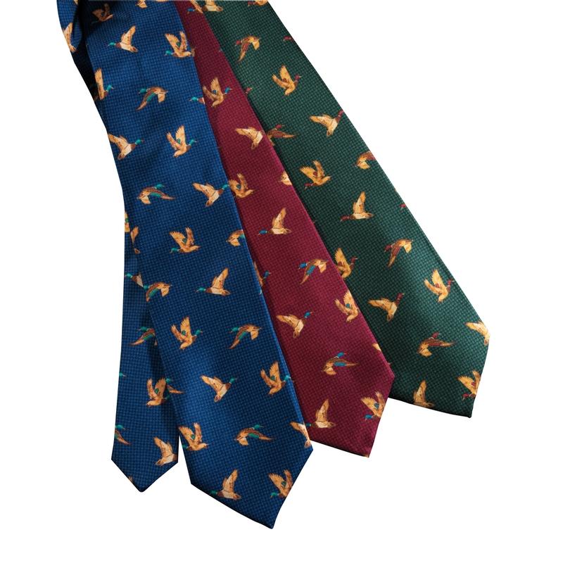 Anatra Print Tie